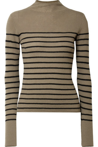 Vince sweater green army green