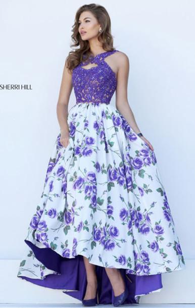 dress, long floral prom dresses 2017, long