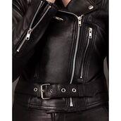 jacket,leather,biker,leather biker,black and,black,black leather,minimalist,saul,36683,leather jacket,acne studios,motorcycle jacket