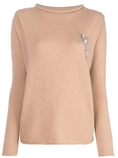 LIU JO jumper women nude sweater