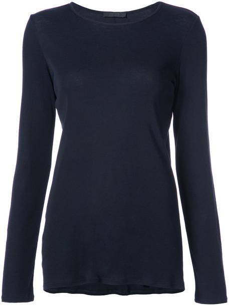 The Row t-shirt shirt t-shirt women cotton black top