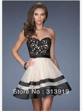dress lace dress pearl dress blackwhite