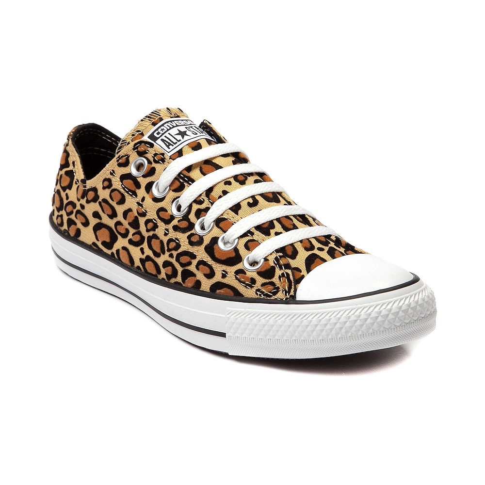 Converse All Star Lo Sneaker in Tan Leopard | Shi by Journeys