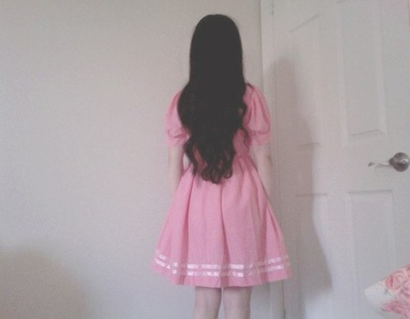 pink pale pink dress pink dress girly