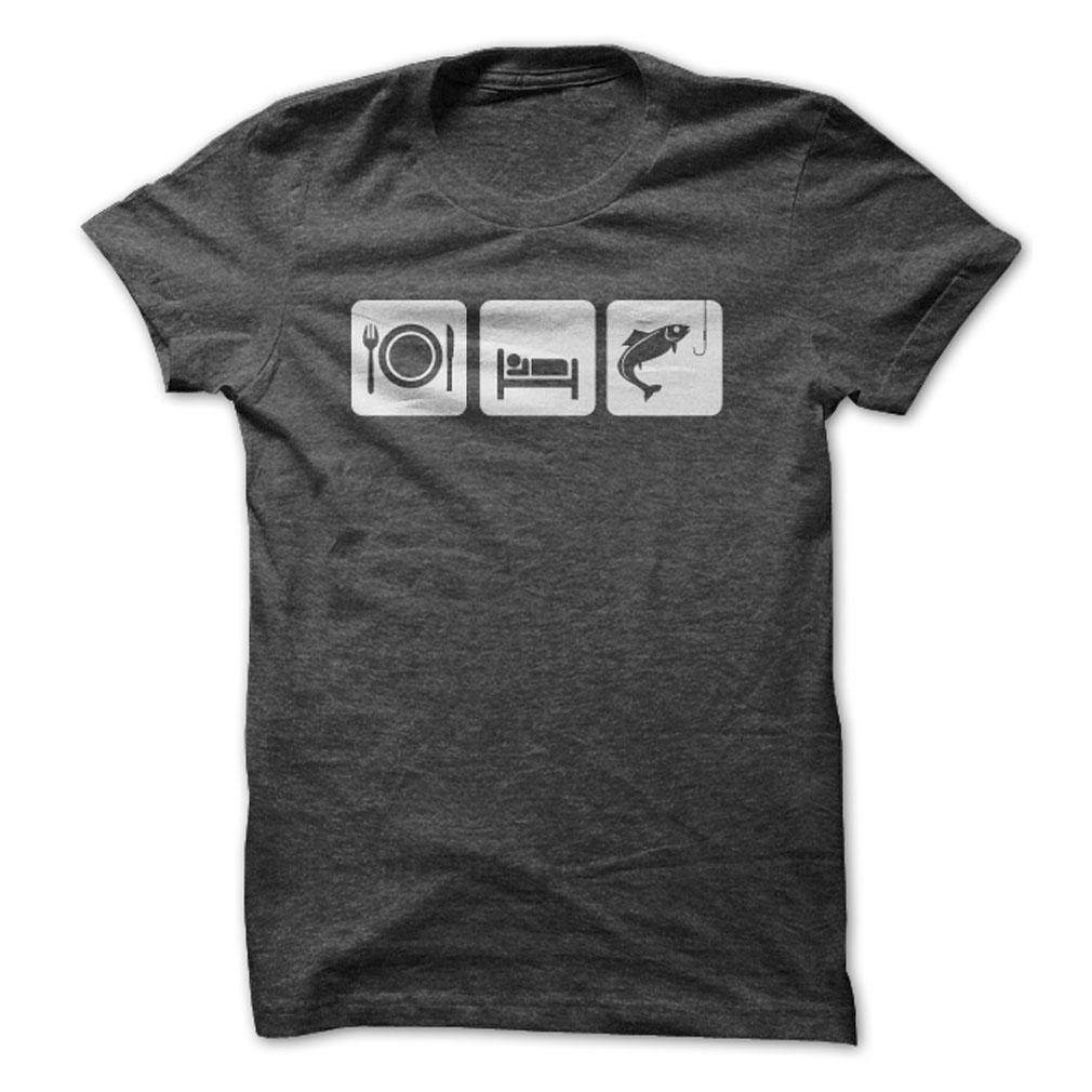 Eat Sleep Fish T-Shirt & Hoodie