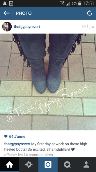 shoes gypsy fringes boots indian boots