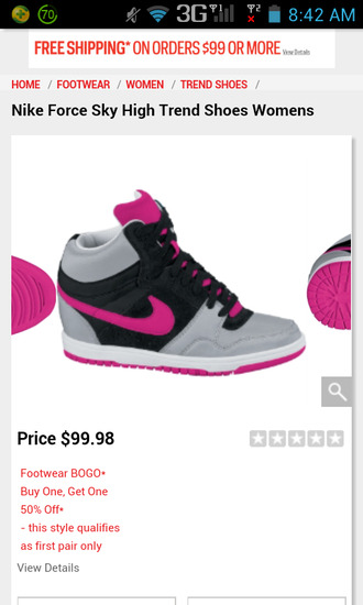 shoes pink nike trend shoes wedge