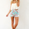 Meringue halter | sabo skirt