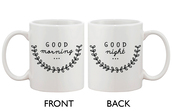 home accessory,good morning good night,coffee,cute mug,mug,gift ideas,gifts for her