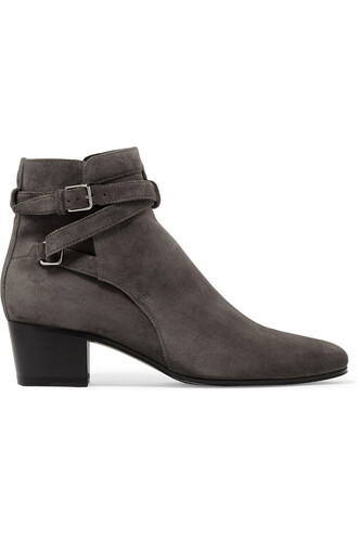 suede ankle boots boots ankle boots suede dark shoes