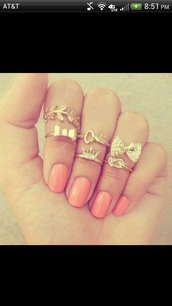 jewels,knuckle ring,mid ring,gold mid finger rings,leaves