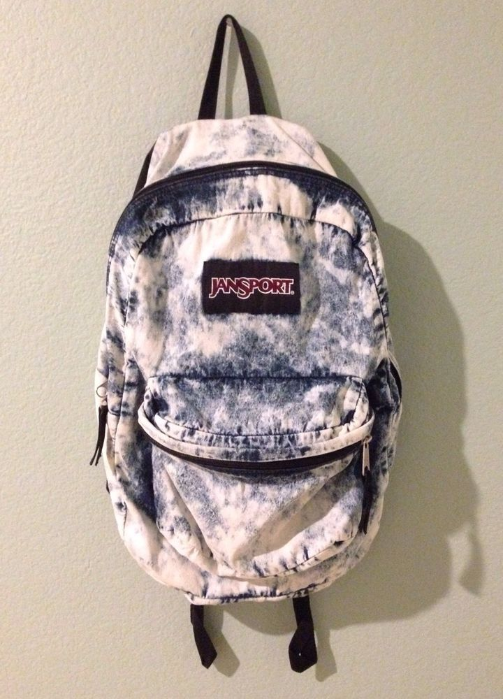 Jansport Denim Daze Acid Wash Backpack