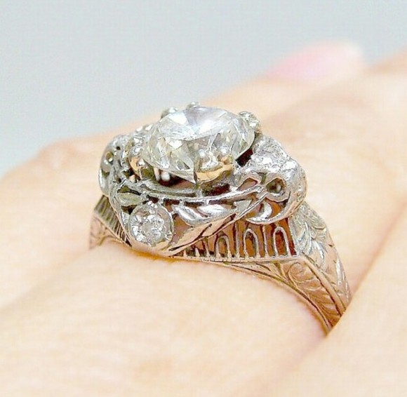 jewels engagement ring ring rings diamonds diamond engagement stone silver rings vintage