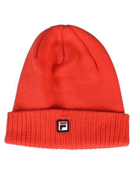 fila beanie knit red hat