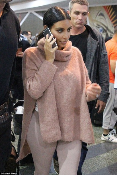 sweater sexy kim kardashian nude fashion style