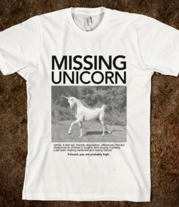Have You Seen This Unicorn T Shirt Small Amazon Co Uk