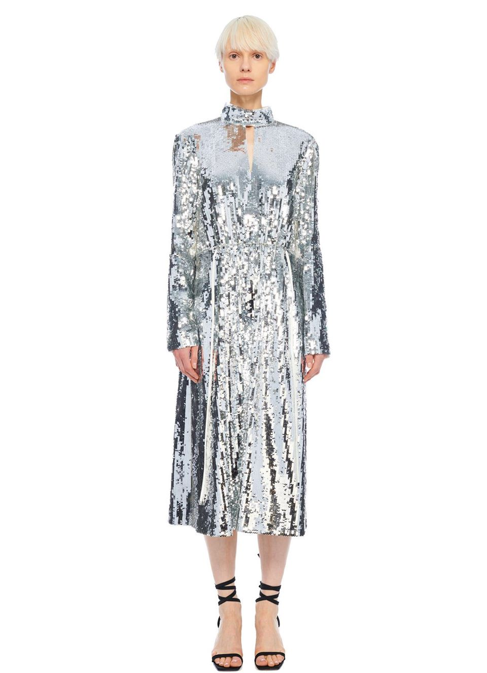 Tibi Sequin Dress