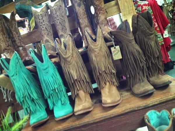 Liberty Black Fringe Cowboy Boots - Southern Jewlz Online Store