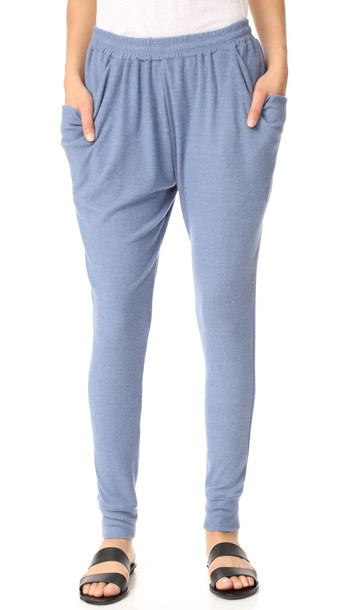 Free People Everyone Loves This Jogger Pants - Blue