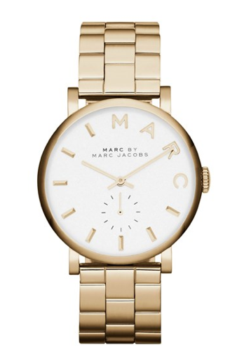 Marc by marc jacobs 'baker' bracelet watch, 37mm