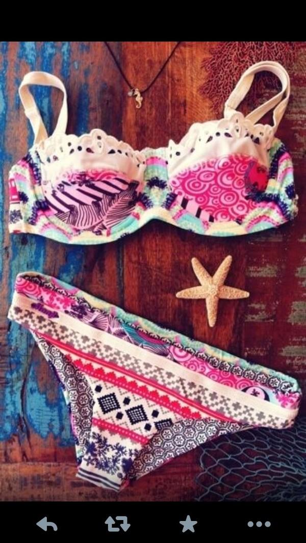 swimwear aztec bikini swimwear