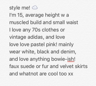jacket space the 1975 david bowie 70s style 80s style 90s style velvet pastel pink faux fur faux septum rings silver style me