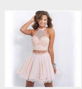 dress pink dress design dresses sequin and pink homecoming dress sweet 16 dresses clothes dressofgirl prom dress prom pretty 2piece dress 2-pieces two piece dress set two-piece pink mini dress