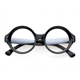 'observer' round sunglasses (more colors)