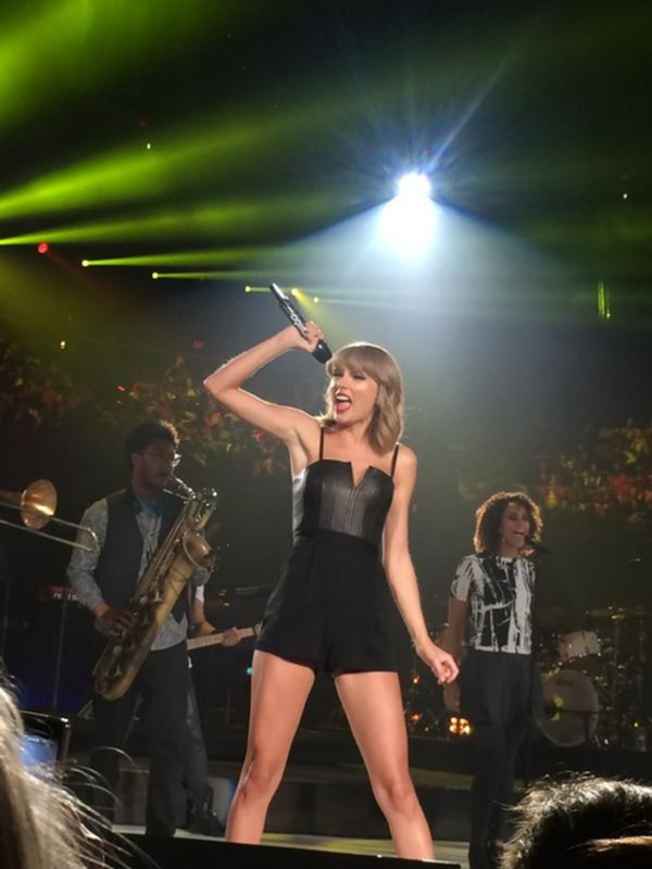 romper taylor swift black
