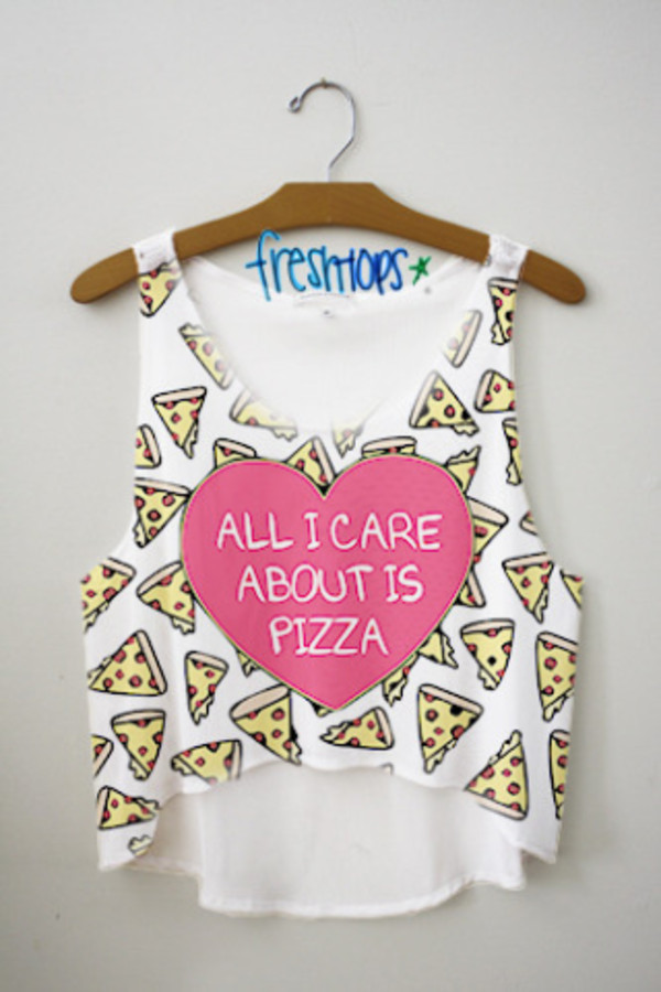 t-shirt tank top pizza pizza tanktop pizza shirt