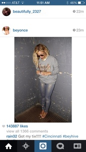 jeans,beyonce,sweater,jewels,sunglasses