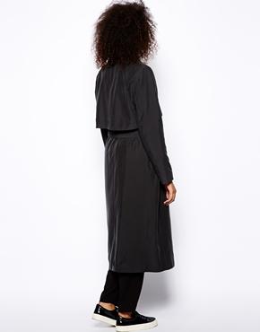 Monki | Monki Exclusive Trench Coat at ASOS