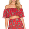 For love & lemons pia crop top in red from revolve.com