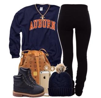 sweater backpack sweatshirt jeans boots beenie jewels bag