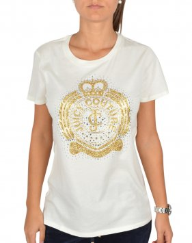 0bce32aa7d9e Juicy Couture Juicy Couture College Crest T-Shirt - White - Juicy ...