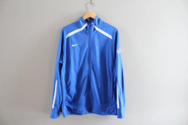 50e13f78170c jacket nike vintage nike blue nike jacket nike track jacket 90s nike