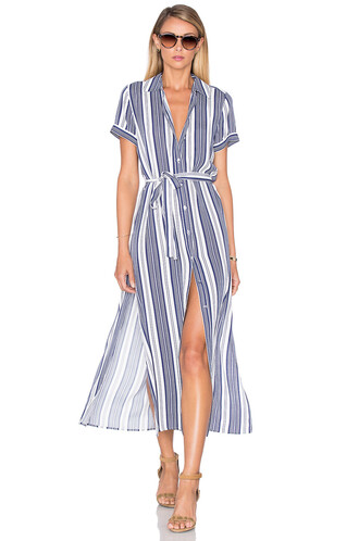 dress shirt dress maxi navy