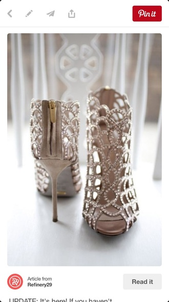 shoes gold shoes heels fancy sequins