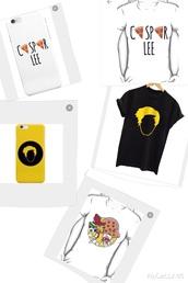 top,casper lee,iphone case,iphone 5c,t-shirt,merch