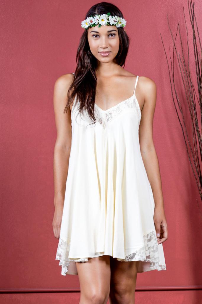 Lace Babydoll Dress | Obsezz
