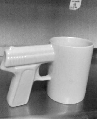 mug gun accessory