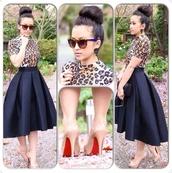 skirt,black,ruffle