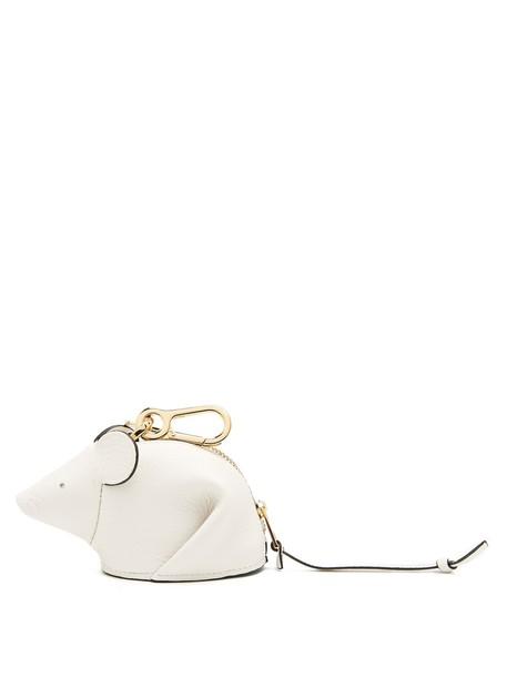 LOEWE purse white bag