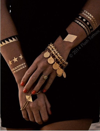 jewels bohemian bracelets vintage gold the freedom state coin bracelet gold coin bracelet lucky coin bracelet summer beauty stacked bracelets temporary tattoo