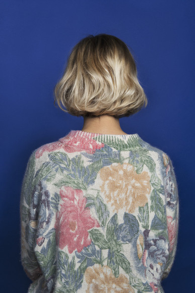 tumblr vintage floral sweater