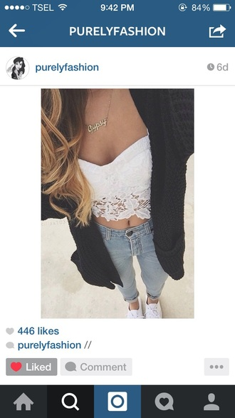 top lace crop top white crop tops