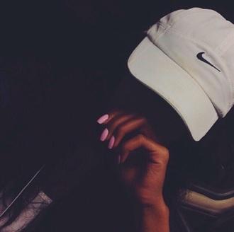 hat nike nike sportswear white