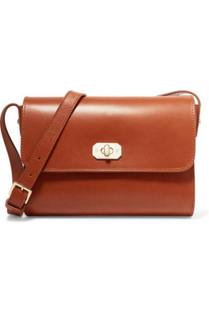 A.P.C. Atelier de Production et de Création - Greenwich Leather Shoulder Bag - Tan