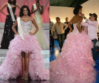 dress luxury prom dresses pageant dresses crystal beaded prom dresses pink pageant dresses high low pageant dresses plus size evening dresses arabic evening dresses