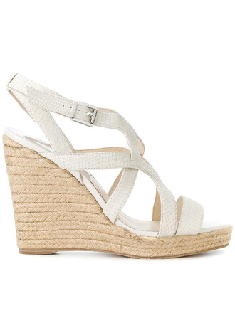 strappy women sandals wedge sandals leather nude shoes